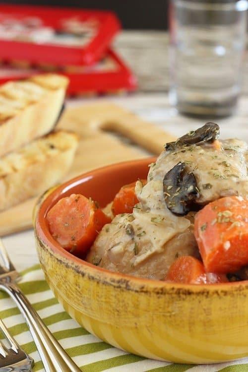 Slow Cooker Garlic Chicken|Craving Something Healthy