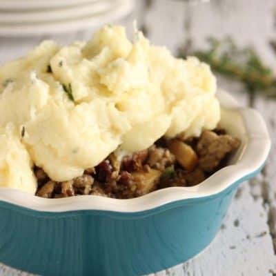 Skinny Low Carb Shepherd's Pie|Craving Something Healthy