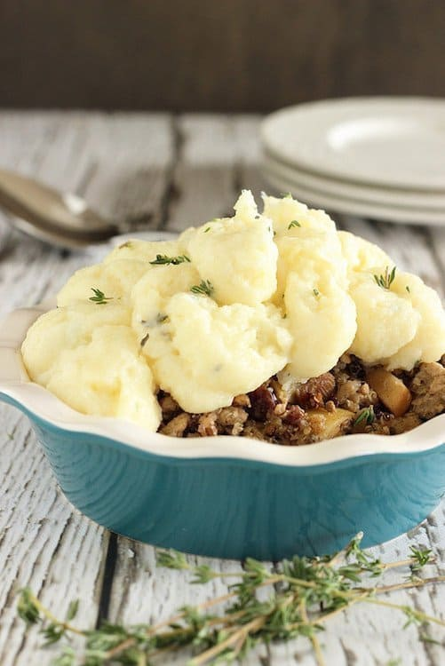 Skinny Shepherds Pie|Craving Something Healthy