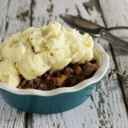 Skinny Low Carb Shepherd's Pie