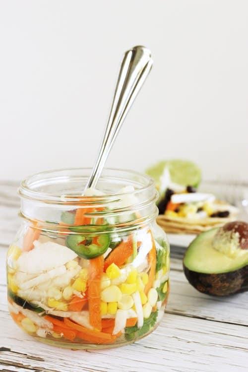 Easy Pickled Taco Vegetables