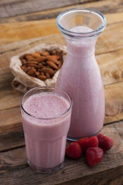 Strawberry Almond Smoothie & a Special Offer for National Nutrition Month