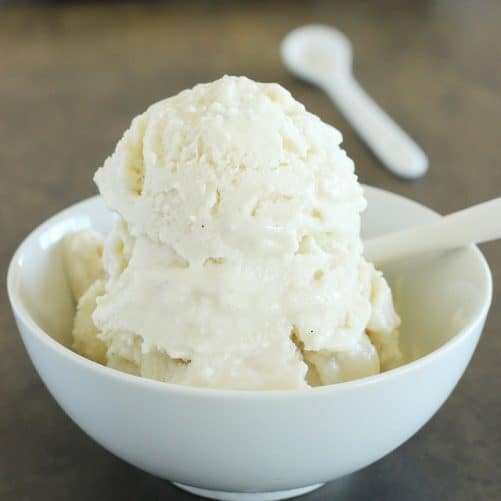 Pear and Chai Spiced Coconut Ice Cream Craving Something Healthy