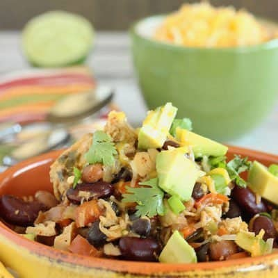 Three Bean Chicken Chili