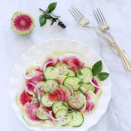 Asian Watermelon Radish Salad|Craving Something Healthy