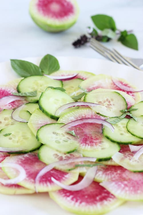 Asian Watermelon Radish Salad|Craving Something Healthy