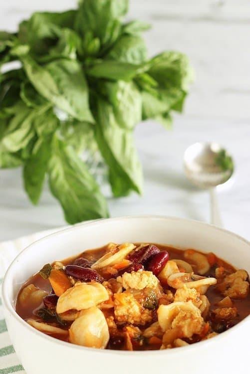 Chunky Italian Turkey Fennel Soup