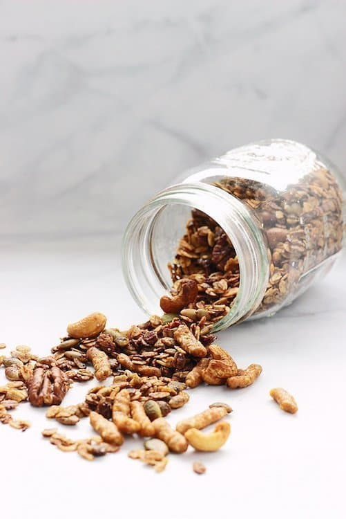 Sweet and Savory Five Spice Granola