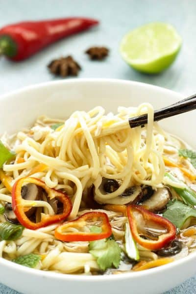 Shortcut Chicken Pho | Craving Something Healthy
