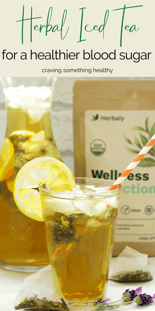 Herbal Iced Tea for a Healthier Blood Sugar
