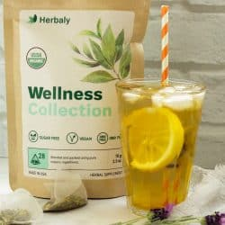Healthier Blood Sugar Herbal Iced Tea