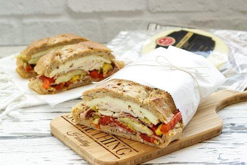 Antipasto PIcnic Sandwiches