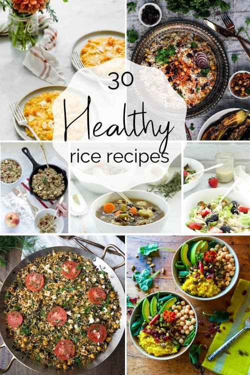 30 Healthy Rice Recipes To Eat All Month Long