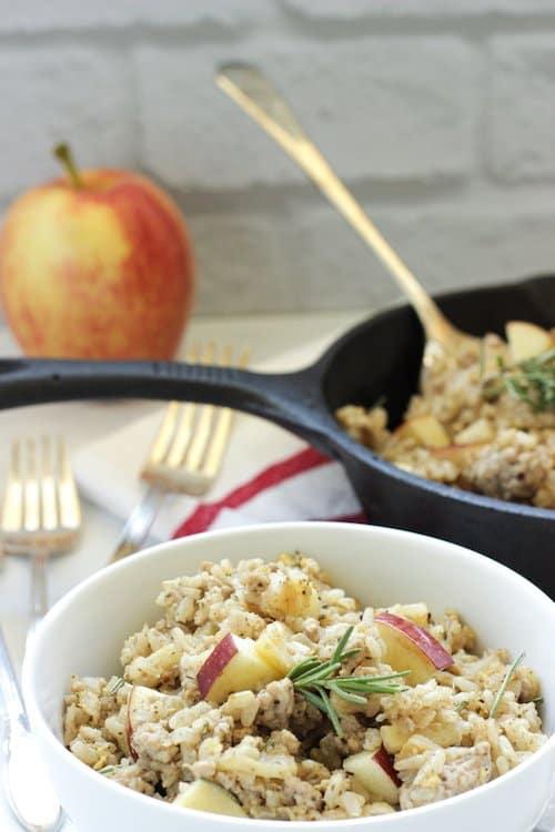 Breakfast Style Pork Fried Rice
