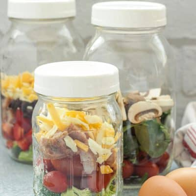 Microwave Egg Breakfast Bowls
