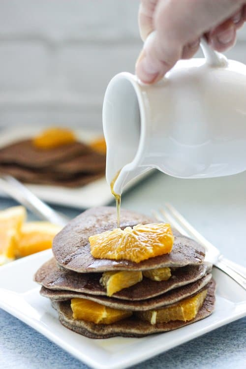Orange Cardamom Buckwheat Pancakes Craving Something Healthy