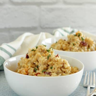 Butternut Squash Brown Rice Risotto
