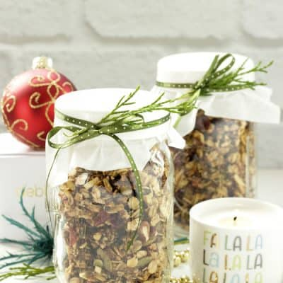 Holiday Spiced Granola