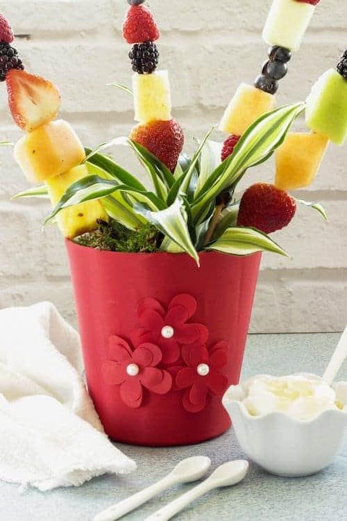DIY Fruit and Flower Arrangements